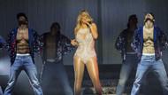 Mariah Carey'nin taşlı mayosu olay oldu