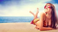 Güneşlenen kadınlar daha uzun yaşıyor