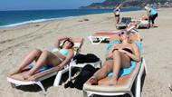 Alanya'da güneşli hava tatilcilere yaradı