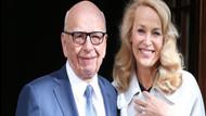 Rupert Murdoch ve Jerry Hall Londra'da evlendi