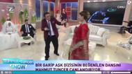 Mahmut Tuncer Hint dansı yaptı