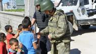Nusaybin'deki güvenlik güçleri çocuklarla yakından ilgilendi