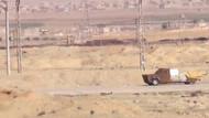 Suriye'de IŞİD'in bomba yüklü kamyonu imha edildi