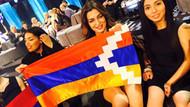 Eurovision'da Ermeni şarkıcıdan skandal bayrak şovu