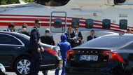 Erdoğan düğüne helikopterle geldi