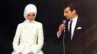 Sümeyye Erdoğan ile Selçuk Bayraktar'ın nikah törenindeki görüntüsü