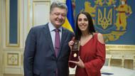 Eurovision birincisi Jamala'ya Ukrayna Halk Sanatçısı unvanı