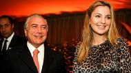 Brezilya'nın yeni First Lady'si Marcela Temer