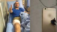 Cumhurbaşkanı Erdoğan yaralı askere telefon gönderdi