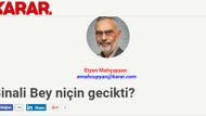 Davutoğlu'nun danışmanı Etyen Mahçupyan'dan manidar soru: Erdoğan neden 2 yıl bekledi?