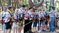 Ukraynalı eczacılar adrenalin parkta ter döktü