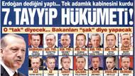 Sözcü'den şok manşet: Bakanların fotoğraflarına dikkat