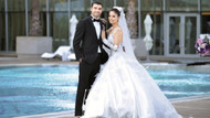 Mustafa Sarp ile Şehnaz Özkaya evlendi