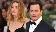 Johnny Depp ile Amber Heard boşanıyor!