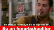 Galatasaray - Fenerbahçe maçı sonrası capsler