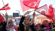 1 milyon İstanbullu Fetih kutlaması için Yenikapı'da
