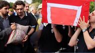 Şehit polis Şerife Özden Kalmış'ı 8 bin kişi uğurladı