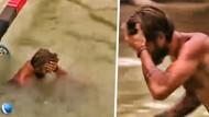 Survivor'da talihsiz kaza! Serkay başını çarptı...