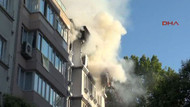 İstanbul Cihangir'de apartmanda patlama