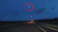 ABD'de Meteorun düşme anı kamerada