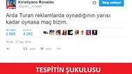 Türkiye Hırvatistan maçı sonrası olay capsler... Arda Turan reklamda oynadığının yarısı kadar oynasa
