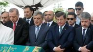 Erdoğan, Gül ve Davutoğlu'nu buluşturan cenaze