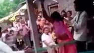 Hindistan'da karısını sevgilisiyle basan koca...