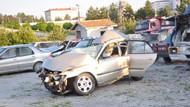 Çorum'da Cenaze yolunda trafik kazası: 6 ölü, 1 yaralı