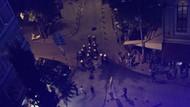 Polis'ten Cihangir'deki protestoculara garip anons: Gülmeyin!