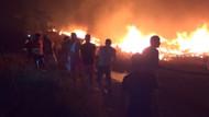 Bodrum'da yangın 15 saattir sürüyor