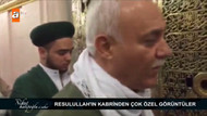 Nihat Hatipoğlu Hz. Muhammed'in kabrinde