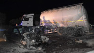Avukat ve eşi zincirleme kazada öldü