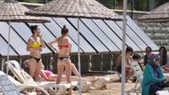 Burası Bodrum değil, Eskişehir plajı tıklım tıklım