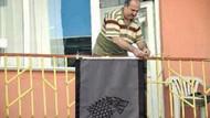 Balkondaki bayrak asan dayı Salih Tahtalıoğlu konuştu!