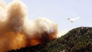 Tatil merkezi Adrasan'da büyük orman yangını!