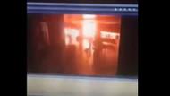 İşte Atatürk Havalimanı'ndaki patlama anı görüntüleri