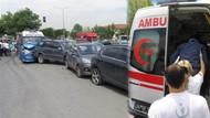 İstanbul'da dehşet: Yolcu minibüsü 5 araca çarptı, 4 yolcu yaralı!
