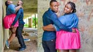 Nişan fotoğrafları sosyal medyayı salladı!