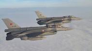 Türk jetleri Haftanin ve Lice'deki PKK hedeflerine bomba yağdırdı