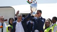 Portekiz kupayla birlikte ülkesine döndü