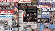 Gazete manşetleri bugün neler yazıyor: 17 temmuz gazete manşetleri!