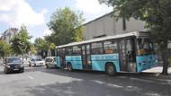 Şişli'de özel halk otobüsü kaza yaptı!