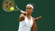 Çağla Büyükakçay, Wimbledon Tenis Turnuvası'na veda etti