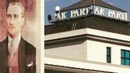 AKP genel merkezine dev Atatürk posteri asıldı