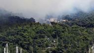 Son dakika! Bodrum'da orman yangını!