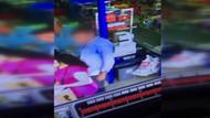 Stickerlı tacizci kameralara yakalandı