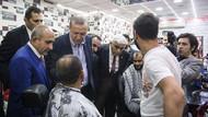 Yüzüne ağda yaptırırken karşısına Erdoğan çıkınca...