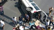 TEM Bahçeşehir-Hadımköy yönünde trafik kazası