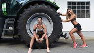 Alman kadın çiftçilerden seksi pozlar!