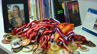 Altın madalyalı Ayşe Begüm ailesinin gururu oldu